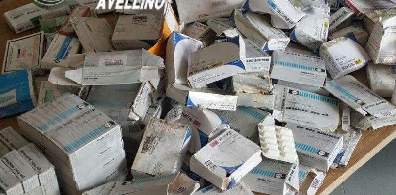 Ritrovati centinaia di farmaci scaduti, erano abbandonati in un casolare