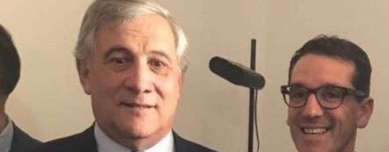 Il Presidente del Parlamento europeo Antonio Tajani a Pratola Serra