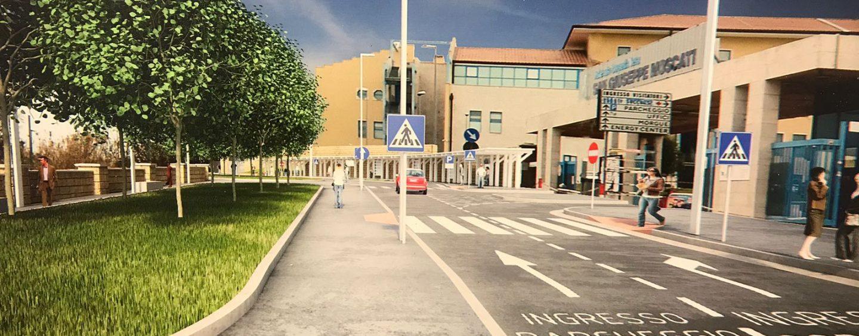 """Aree verdi, parcheggio dipendenti e centro commerciale: il nuovo volto del """"Moscati"""""""