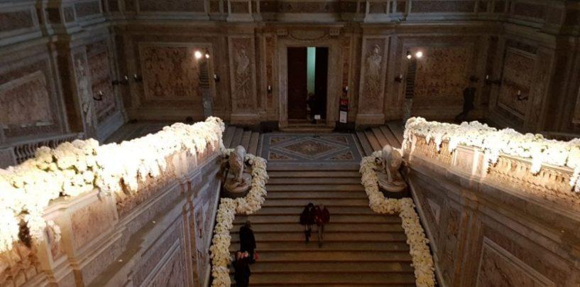 La Reggia di Caserta trasformata per un matrimonio, è polemica sui social