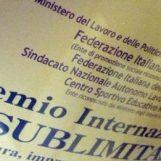 """Premio Sublimitas, il presidente Colarusso: """"Riconoscimento al Sud che sta dalla parte della legalità"""""""