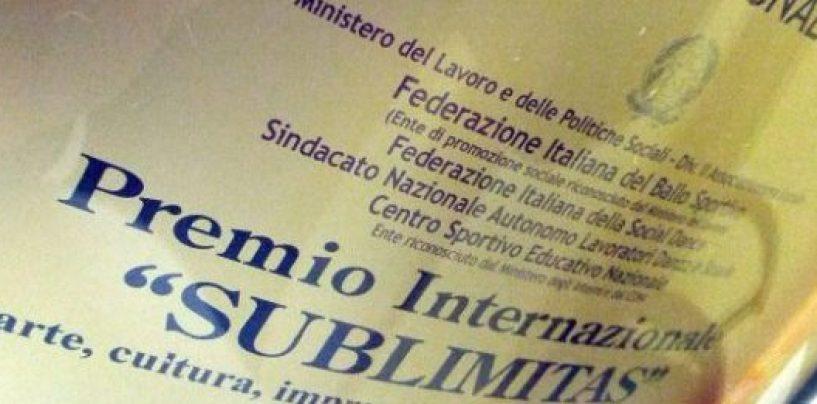 Premio Sublimitas, ufficializzata la rosa dei nomi. A marzo l'evento