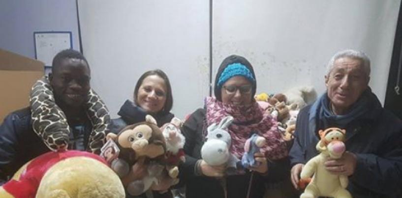 """Teddy Bear Toss"" durante Sidigas-Nanterre, donati i peluche raccolti"