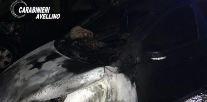 Auto in fiamme in Irpinia: probabile la natura dolosa