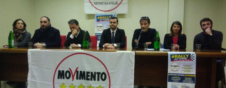 """""""Irpini ribellatevi"""": primo giorno di """"rally"""" per il Movimento Cinque Stelle"""
