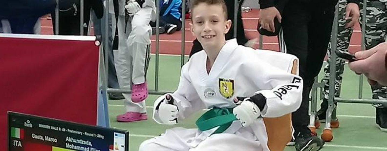 """Taekwondo Avellino, podio sfiorato in Germania alla """"President Cup for Children"""""""