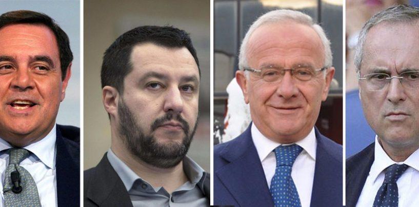 """Prima demitiano, poi renziano, ora sta con Salvini e Lotito: il """"trasformismo"""" di Pietro Foglia"""