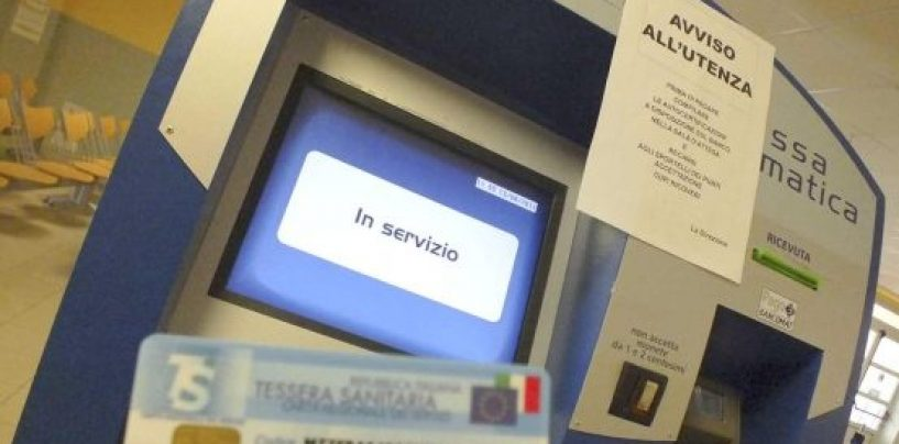 Ticket, l'Asl installa le nuove casse automatiche per il pagamento