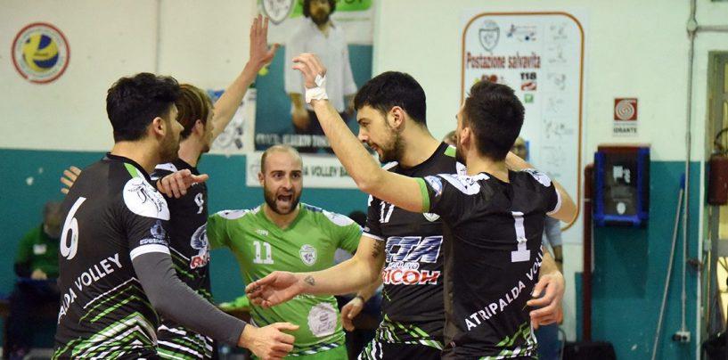 Serie C, l'Atripalda Volleyball batte Pomigliano e si porta al terzo posto in classifica