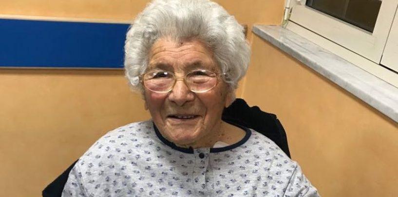 Operata a 104 anni, lo straordinario intervento alla clinica Montevergine