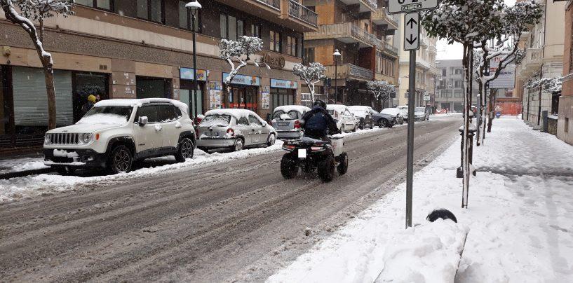 """Neve in città, l'assessore Preziosi: """"Tutto sotto controllo, ma i cittadini proprio oggi devono uscire?"""""""