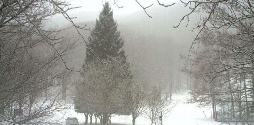 Non solo vento, torna la neve in Irpinia: da questa sera i primi fiocchi