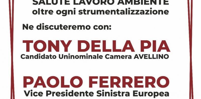 Ex Isochimica, l'iniziativa di Potere al Popolo con Della Pia e Ferrero: lavoro, salute e ambiente