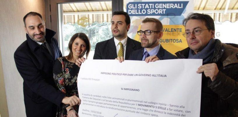 """Patto M5S con i cittadini, Sibilia: """"Gli altri candidati dimostrino di non essere attaccati a soldi e poltrone"""""""