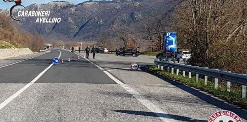 Sicurezza stradale e reati in generale: task force dell'Arma in Irpinia