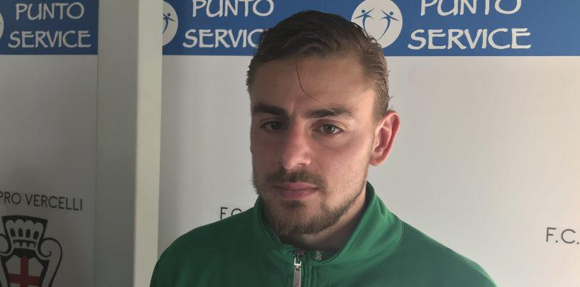 """Pro Vercelli-Avellino 0-0, De Risio con le unghie: """"Pareggio di carattere"""""""
