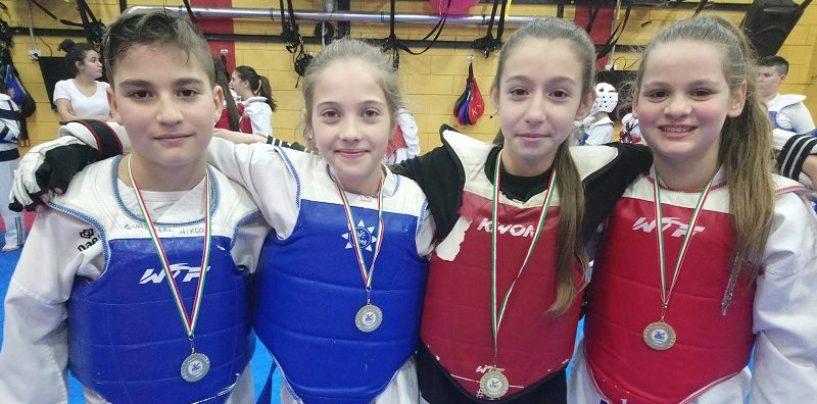 Taekwondo, il team di D'Alessandro cala il poker d'oro agli interregionali
