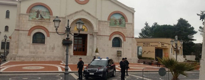 Il Papa a Pietrelcina, a Piana Romana arriva l'antiterrorismo