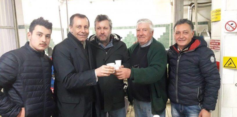 Massimiliano Carullo incontra i produttori di olio nel Cilento