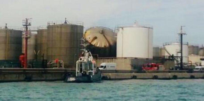 Esplosione al porto di Livorno, morti due operai