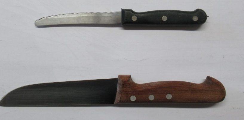 Trovati in casa di un 70enne dodici coltelli e una pistola con 8 cartucce