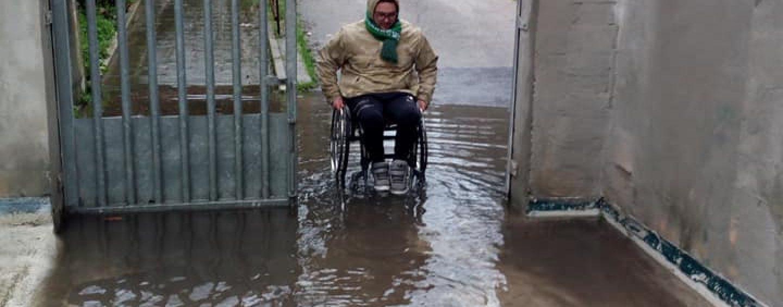 Stadio, ci risiamo: ingresso disabili allagato. L'Avellino si attiva