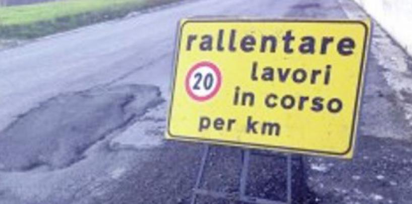 In Baronia strade simili a groviere, drammatica la condizione della provinciale 235