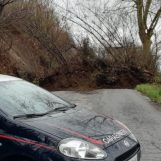 Frana sulla strada tra Mercogliano e Ospedaletto a causa del maltempo: traffico interrotto