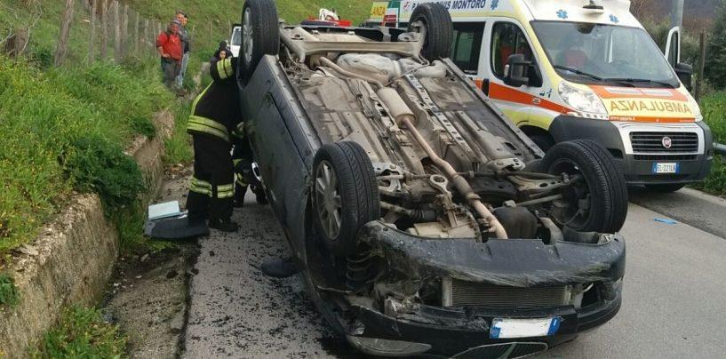 Brutto incidente e camion frigo a fuoco: super lavoro per i pompieri