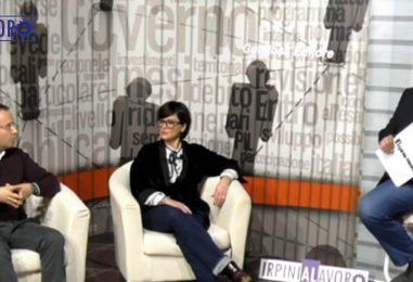 VIDEO/ IrpiniALavoro, verso le amministrative: confronto con Luca Cipriano e Maria Rusolo