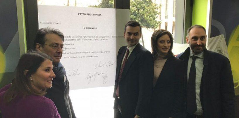 Amministrative Avellino, i deputati del M5s incontrano la città