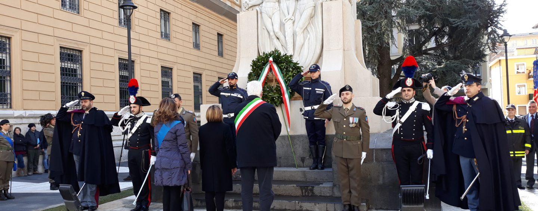 FOTO – Avellino riabbraccia il monumento ai Caduti. Restaurata l'intera zona