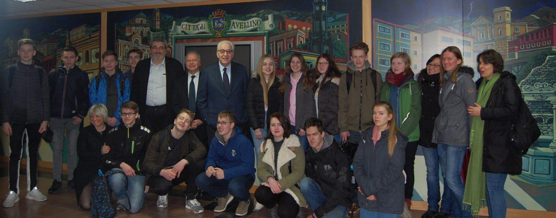 """La città di Avellino ospita un gruppo studenti tedeschi, Foti: """"Grande opportunità culturale"""""""