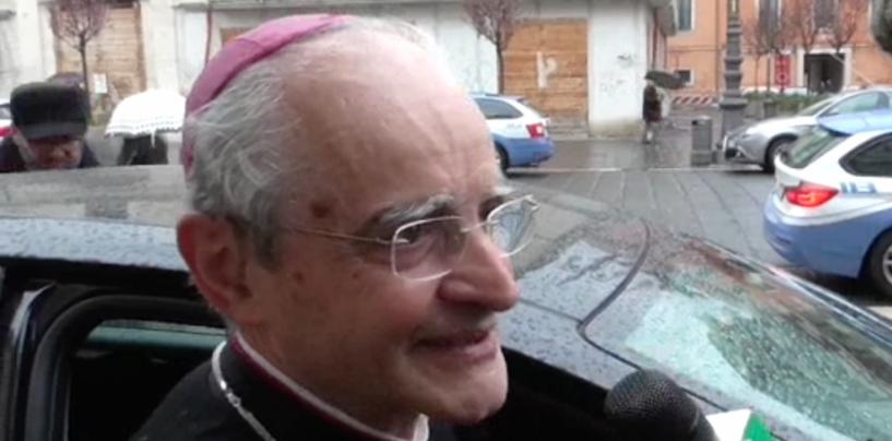La fede incontra la musica, il Vescovo Aiello sul palco del Conservatorio