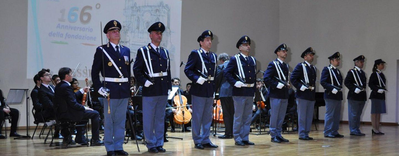 FOTO/ Festa della Polizia di Stato, 166 anni al fianco dei cittadini