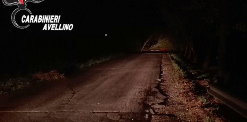 Pioggia incessante sull'Irpinia: crolla un ponte a Teora