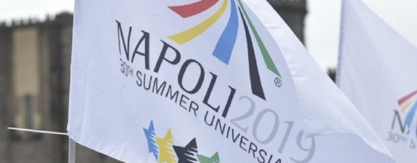 Universiade di Napoli 2019, c'è il via libera