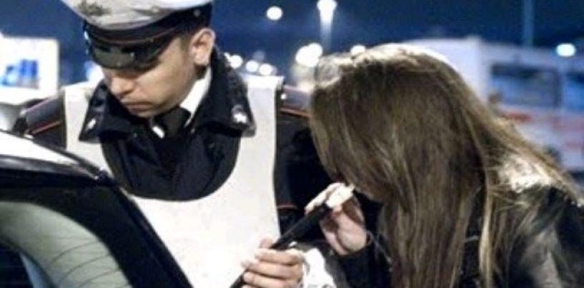 Ubriaca provoca incidente, denunciata 32enne