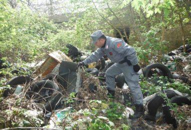 Scoperta discarica abusiva di 300 mq: conteneva rifiuti speciali