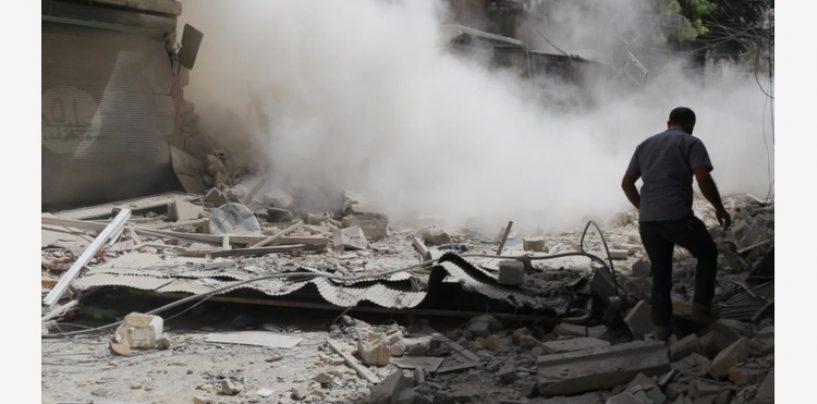 Inferno in Siria: sospetto attacco chimico, tra le 70 vittime molti bambini