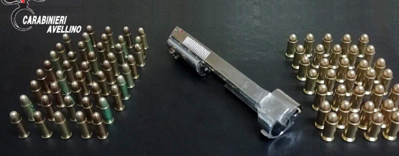 Munizioni e parti di armi detenute illegalmente: denunciato