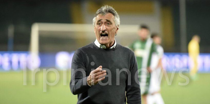 """Avellino-Spezia 1-0. Foscarini: """"Tifosi, mi fate sentire un allenatore di A"""""""
