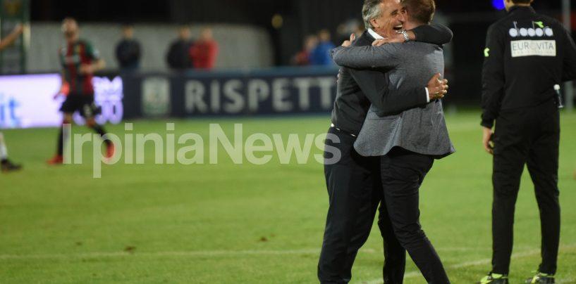 """Il passo d'addio di Foscarini: """"Quante emozioni, grazie Avellino"""""""