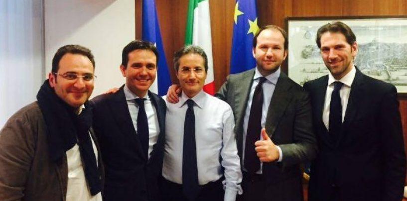 Caldoro, Alemanno e Cattaneo in città: il centrodestra cala i big in vista del voto