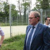 """Dino Preziosi a Bellizzi: """"Qui prefabbricati fatiscenti e parchi giochi abbandonati"""""""