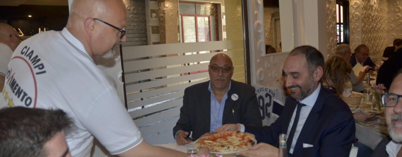 """""""Una pizza con Ciampi"""", entusiasmo per l'iniziativa pentastellata"""
