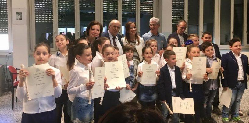 """A Forino il Concerto di Flauto degli alunni del """"Vespucci"""""""