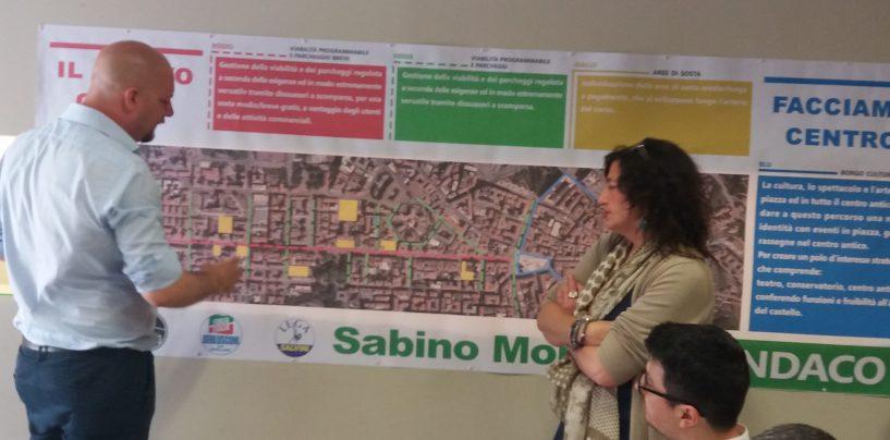 """""""Altro che autostrada sul Corso, con noi 30% di aree pedonali in più"""". Urbanistica, il punto di Morano"""