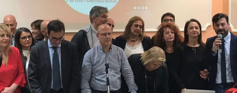 """Pizza alla presentazione della lista Pd: """"Processo Isochimica ad Avellino? Solo passerella elettorale"""""""