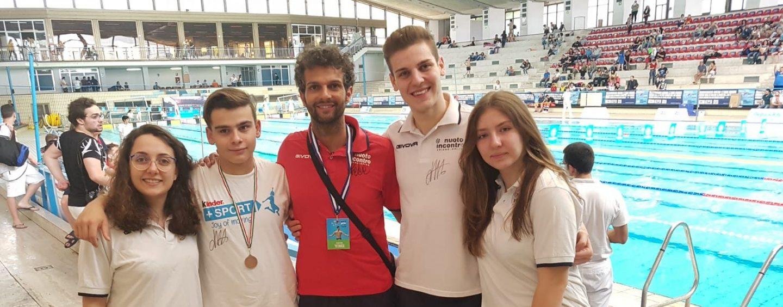 Nuoto, ottimi risultati per la New Sporting In sotto gli occhi di Federica Pellegrini